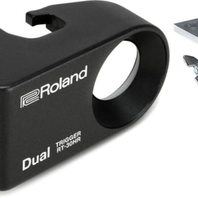 Roland APC-33 Electronic Module and Controller Mount - with Clamp + Roland RT-30HR Dual Zone Trigger Value Bundle