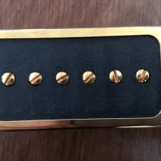 Gold Lollar Single Coil For Humbucker Neck Guitar Pickup P90 P94