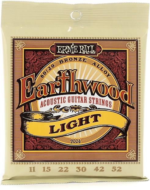 ernie ball po2004 earthwood 80 20 bronze light acoustic reverb. Black Bedroom Furniture Sets. Home Design Ideas