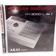 Akai CD Rom Sound Library MPC2000XL Volume 1 - Vol 1 - CD-Rom MPC 2000XL