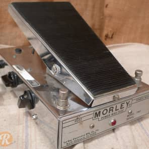 Morley Power Wah Fuzz PWF Silver 1970s