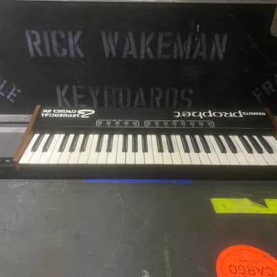 Sequential Circuits Sequential Circuits Prophet Remote owned and used by Rick Wakeman of YES 1979 Bl
