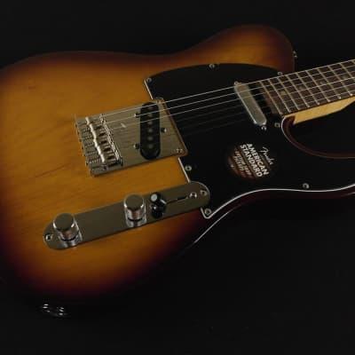 Fender Limited Edition American Standard Telecaster Figured Neck Cognac Burst - Magnificent 7 (021) for sale