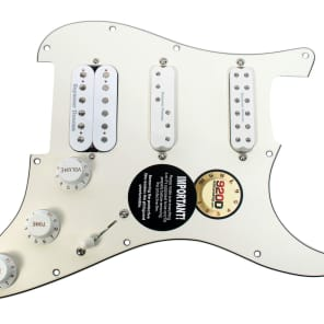 920D Custom Shop 111-49-10 Seymour Duncan Fat Everything Axe Loaded Strat Pickguard