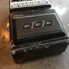 DOD FX86B  Black Blood Splatter Death Metal Distortion Pedal