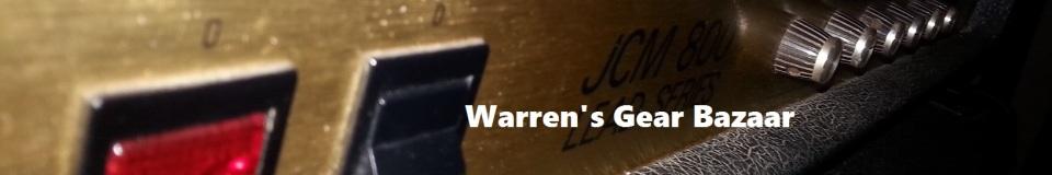 Warren's Gear Bazaar