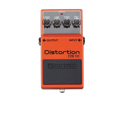 Boss DS-1X Distortion Pedal, Orange for sale