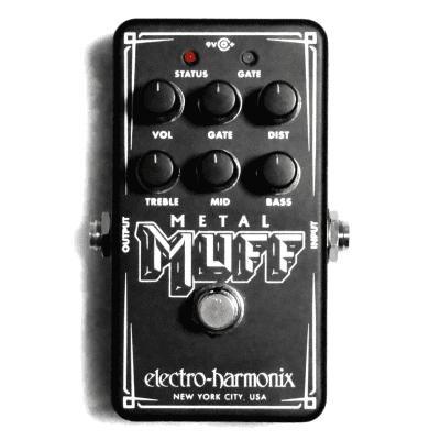 Used Electro-Harmonix EHX Nano Metal Muff Distortion w/Gate Guitar Effects Pedal