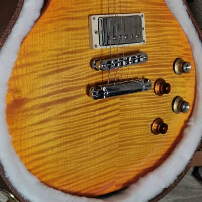 Gibson Les Paul Gary Moore 2013 Lemonburst Limited Run Great Flame with Papers & Original Case for sale