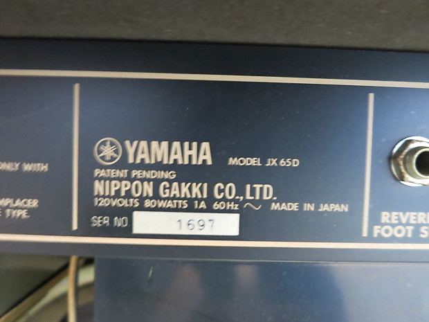 Yamaha Jx Series D