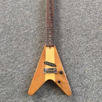 Kubicki Arrow Mini V Guitar 1982  Vintage Natural Color for sale