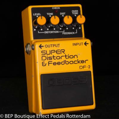 Boss DF-2 SUPER Distortion & Feedbacker 1984 s/n 460012 Japan.