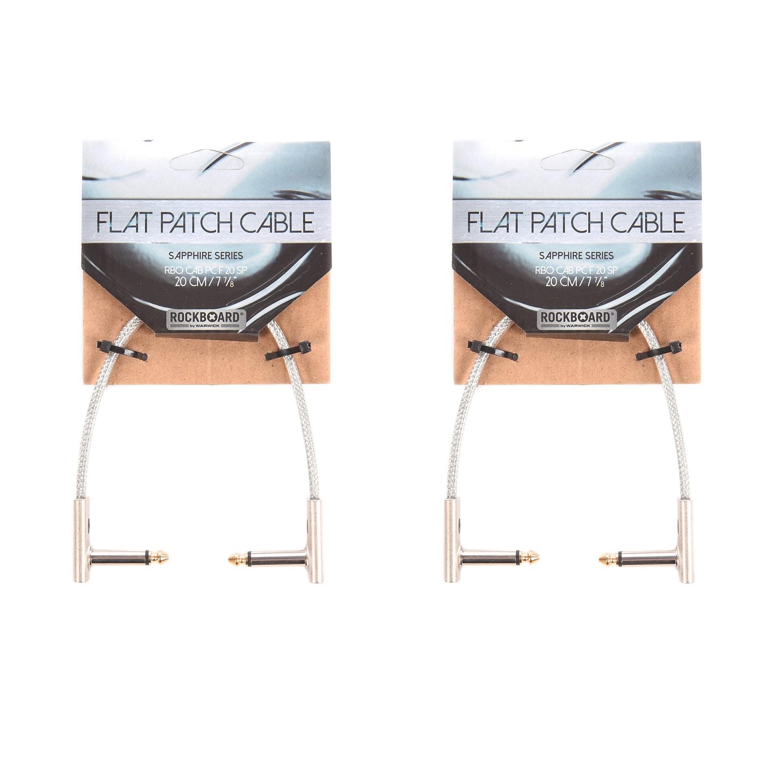 "20 cm RockBoard Flat Patch Cable 7 7//8/"" SAPPHIRE Series"