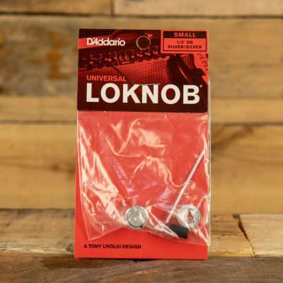 D'Addario LokNob Pro Small - Silver