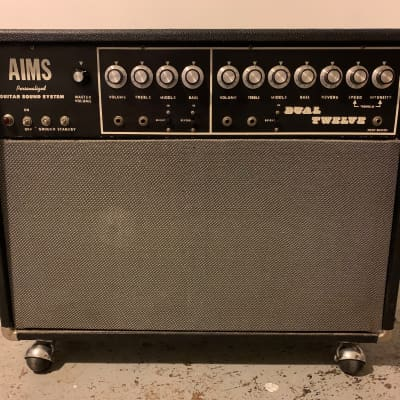 Aims Personalized Guitar System - 120 Watt Tube - Dual Twelve *Vintage* for sale