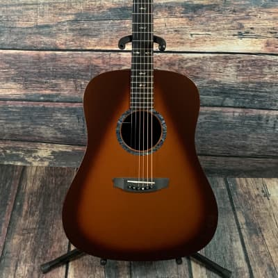 Used Rainsong Left Hand CO-DR1000N2T Acoustic Electric Guitar with Case - Tobacco Burst for sale