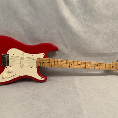 1980-1982 Fender Bullet S-3 Torino Red w. Original Hardshell Case for sale