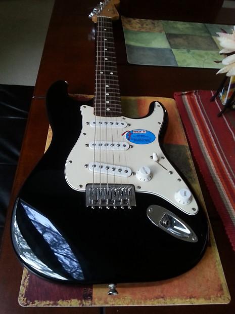 Fender Stratocaster Jr Junior Black Reverb