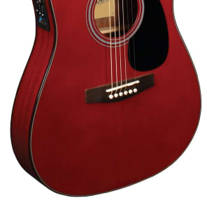 Indiana Thin Body Dreadnought Acoustic Electric Guitar for sale