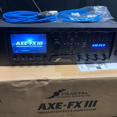 Fractal Audio Axe-FX III Preamp Effects Processor   Reverb