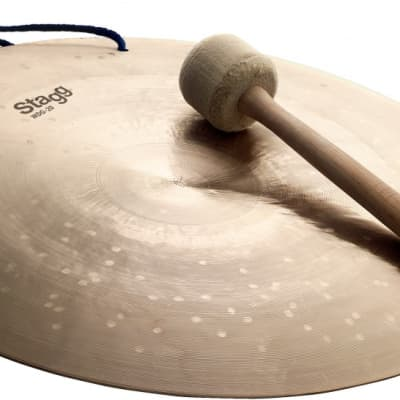 """Stagg 20"""" Wind Gong w/ beater"""