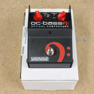 Whirlwind FXOCBP OC BASS Optical Bass Compressor Pedal Customer Return for sale