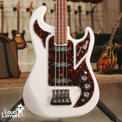 Burns Shadow Bass 1964 Reissue 2011 White for sale