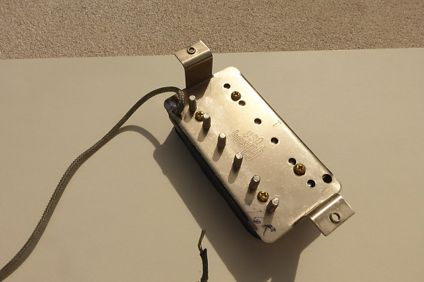 Gibson 496r Pickup From Les Paul Usa 1993 Reverb