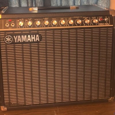 Yamaha G50-112II 1980s Combo Amp w/ Original Cover and Channel Switch