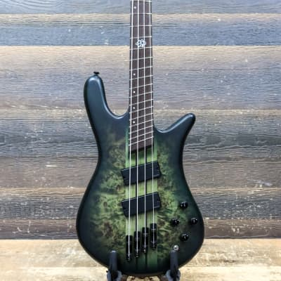 """Spector NS Dimension 4 Multi-Scale 34""""-36"""" Haunted Moss Matte Electric Bass w/Bag"""