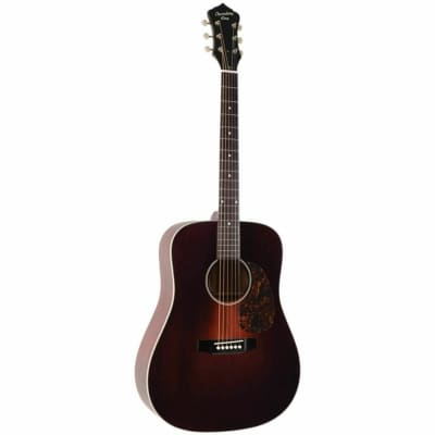 Recording King RDS-11-FE3 Series 11 Dreadnought Transparent Brownburst 2020