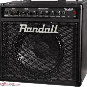 Randall RG80 80W 1x12 Guitar Combo Amplifier Black for sale