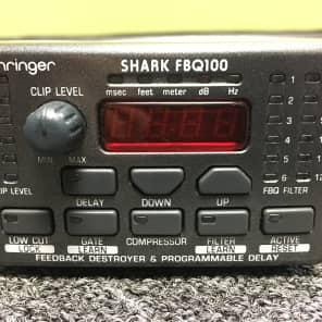 Behringer Shark FBQ100 Automatic Feedback Destroyer