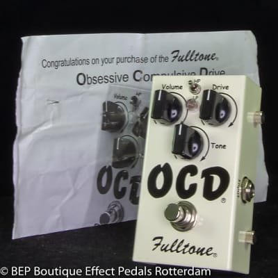 Fulltone OCD V1 Series 4 Obsessive Compulsive Drive s/n 27501, 2009 as used by Keith Richards