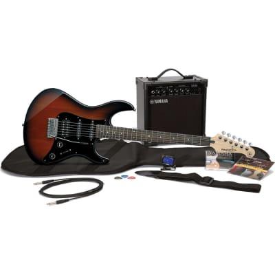 Yamaha Gigmaker EG-OVS Old Violin Sunburst w/Amp Guitar Package for sale