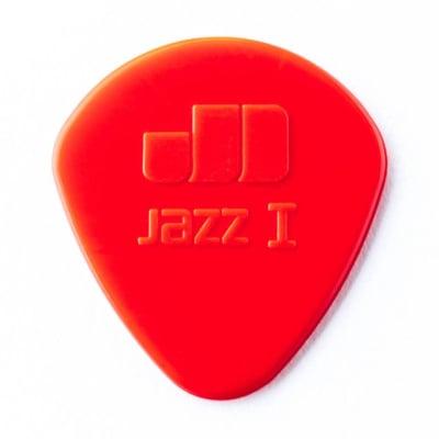Dunlop Jazz 1 Red Nylon Picks, 6-pack for sale