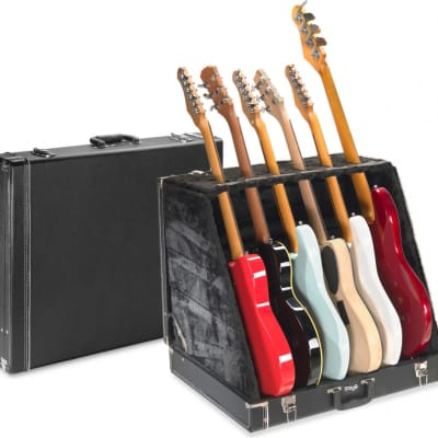 Stagg GDC-6 Universal Guitar Stand Case for 6 Electric or 3 Acoustic Guitars