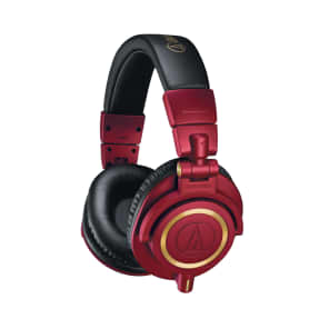 Audio-Technica ATH-M50xRD Limited Edition Professional Monitor Headphones