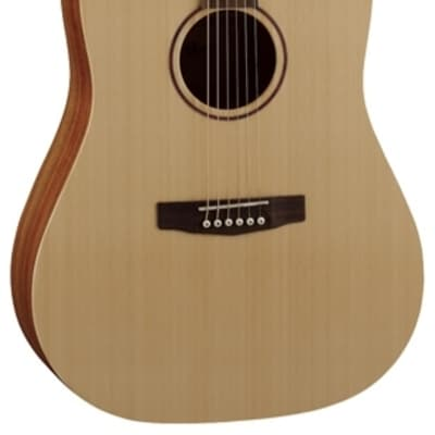 Cort Earth Series Earth-Grand Acoustic Guitar w/ Bag, Open Pore, New, Free Shipping