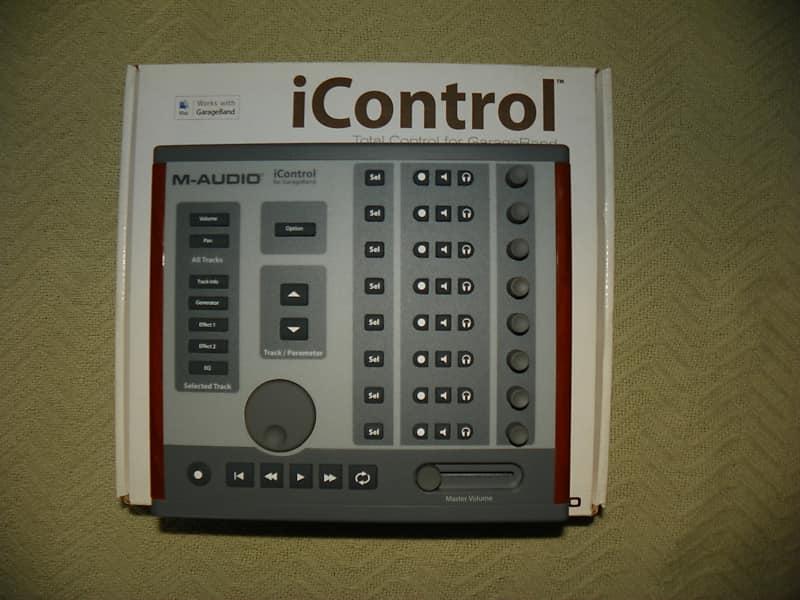 m audio icontrol 2010 gray brown reverb. Black Bedroom Furniture Sets. Home Design Ideas