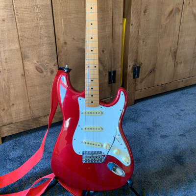 Fender California Series Stratocaster 1997 Candy Apple Red for sale