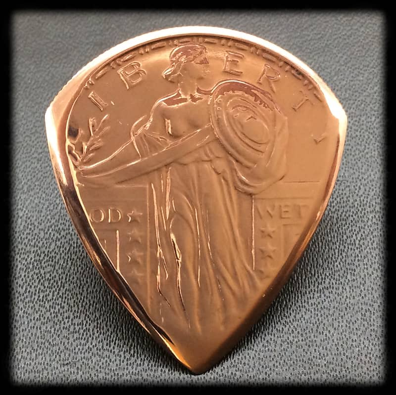 Standing Liberty 1//2 oz Copper Rounds