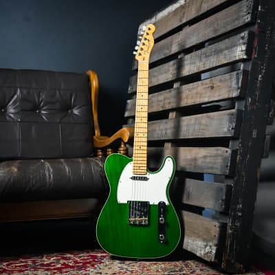 Fender Custom Shop - 2020 American Custom 60s Telecaster - Emerald Green Transparent for sale