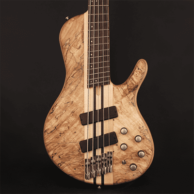 Cort A5PLUSSCMSOPN Artisan Series 5-String Multi Scale Bass Guitar w/Hard Case - Open Pore Natural