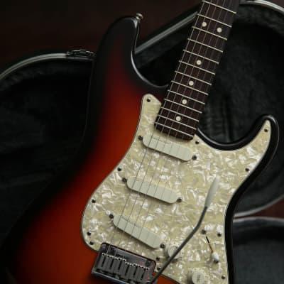 1996 Fender USA Strat Plus Three Tone Sunburst & Original Fender Case for sale