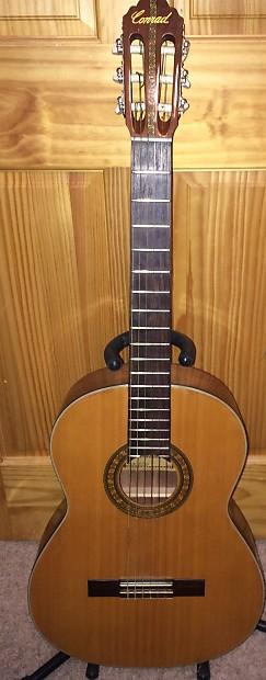 vintage mij conrad 40150 classical guitar for parts or. Black Bedroom Furniture Sets. Home Design Ideas