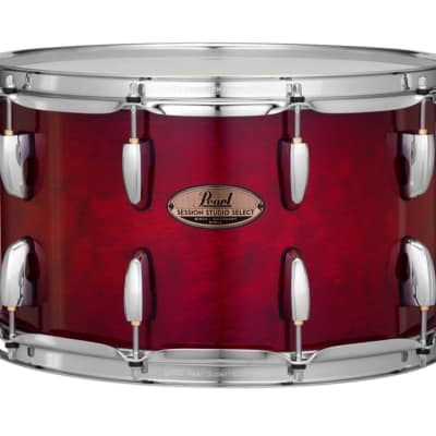 Pearl Session Studio Select 14x8 Snare Drum - Antique Crimson Burst