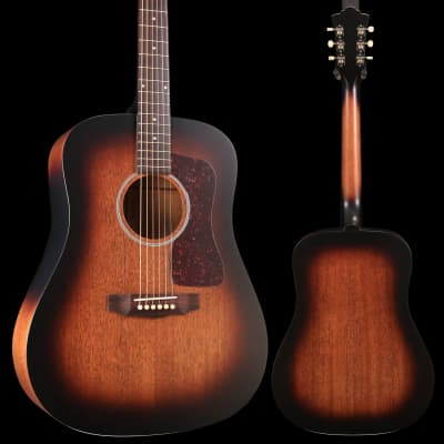 Guild USA D-20E VSB Vintage Sunburst w/ Hard Case S/N C191474 4lbs 9oz for sale