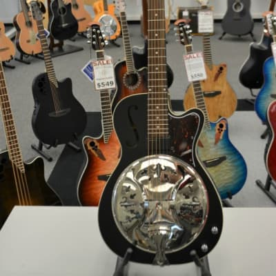 Washburn R60BCE Americana Series Richie Owens Signature Resonator for sale