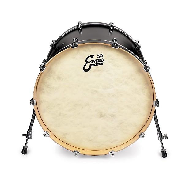 evans calftone bass drum head 18 alto music reverb. Black Bedroom Furniture Sets. Home Design Ideas